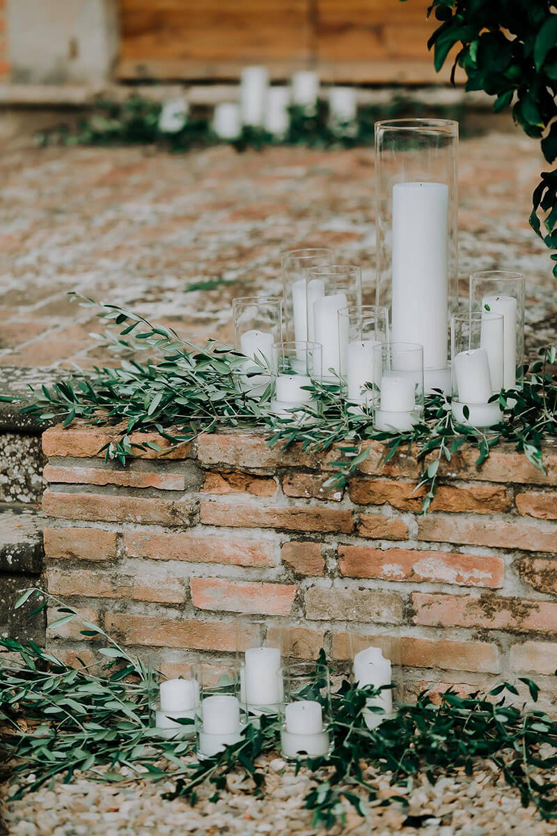 Romantic italian weddings