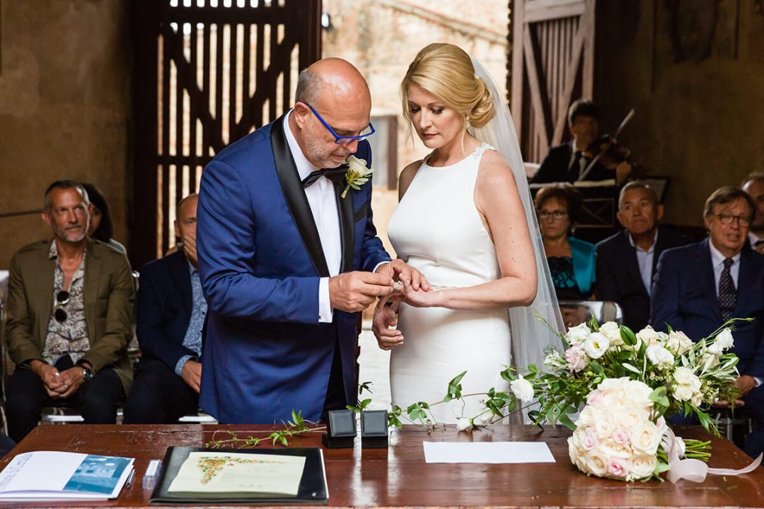 Civil ceremony in Certaldo