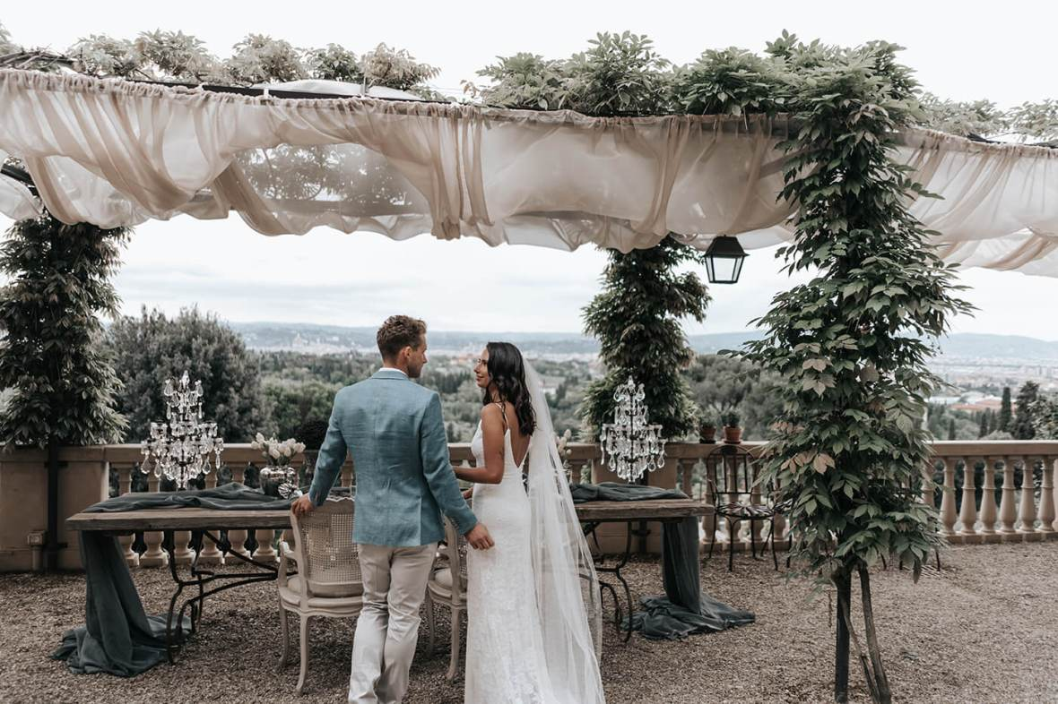 Exclusive villa for wedding in Florence