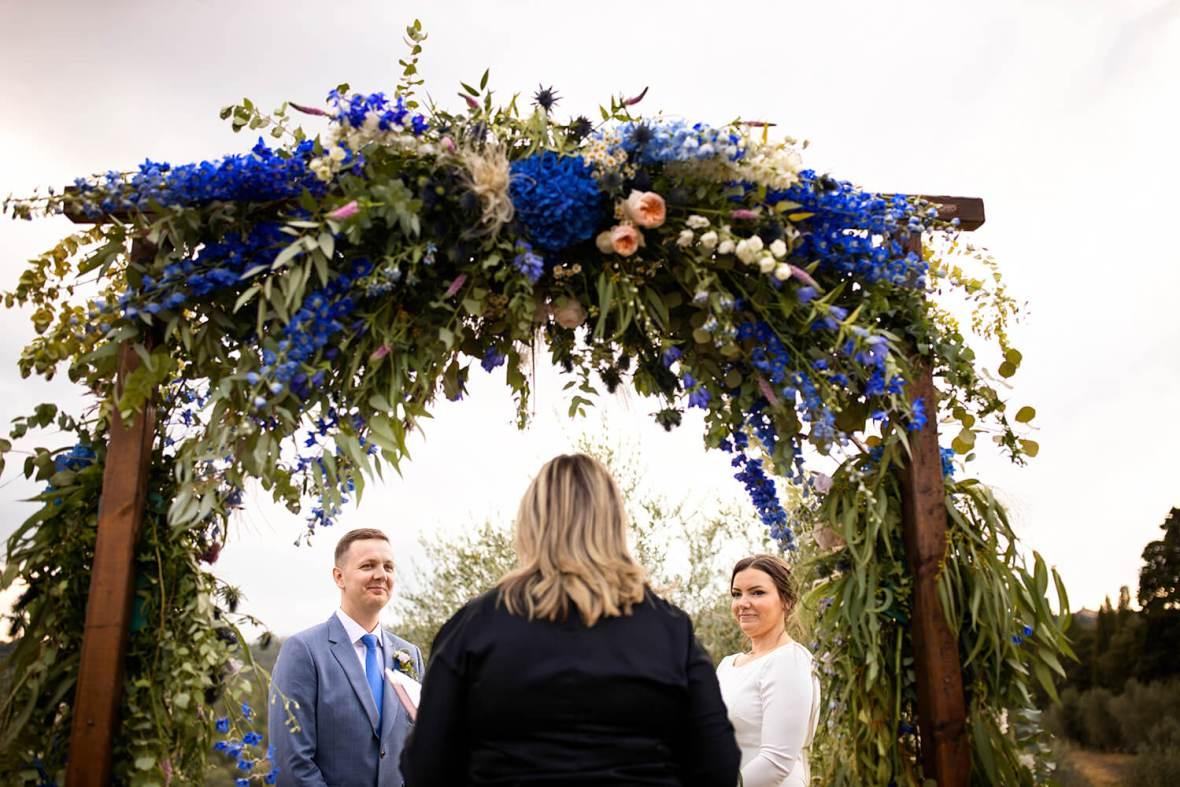 Romantic italian weddings