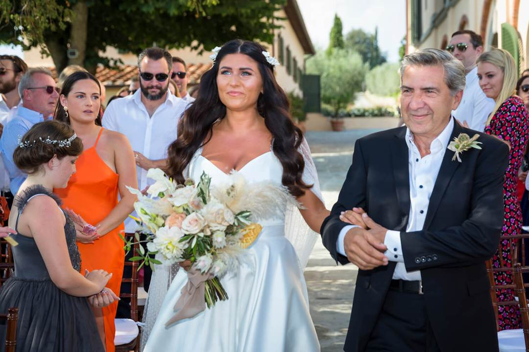 Wedding in the heart of Chianti