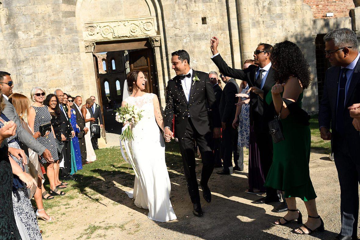 Ceremony in San Galgano Abbey