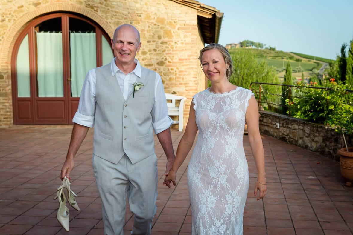 venues wedding reception in San Gimignano