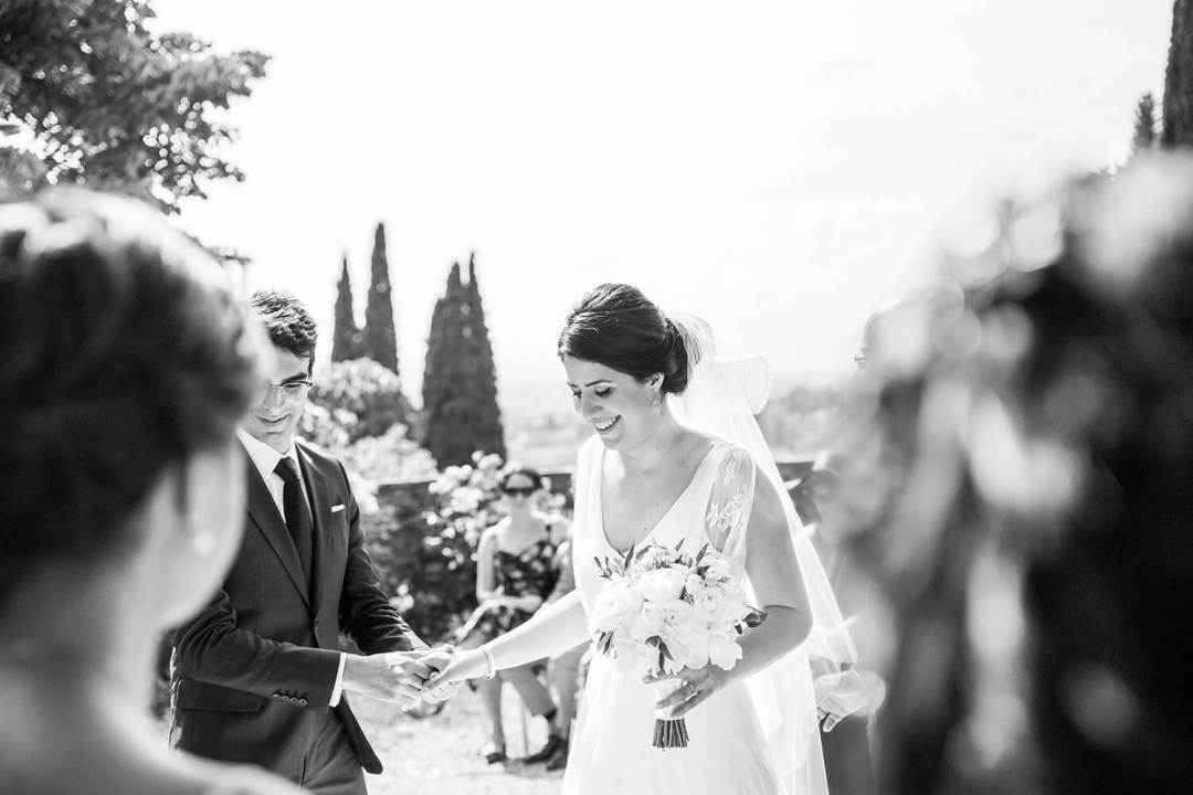 Wedding in a villa in Tuscany
