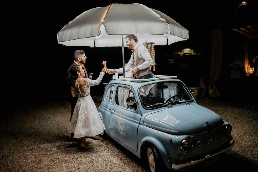 September wedding in Tuscany