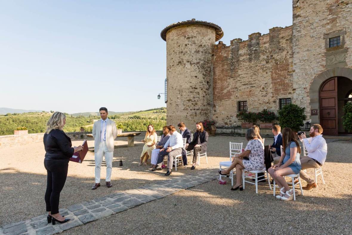Get married in a Tuscan winery