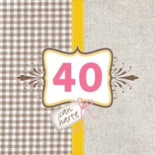 Huwelijkswensen 40 jaar kaartje