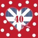 kaartje 40 jaar getrouwd huwelijkswensen