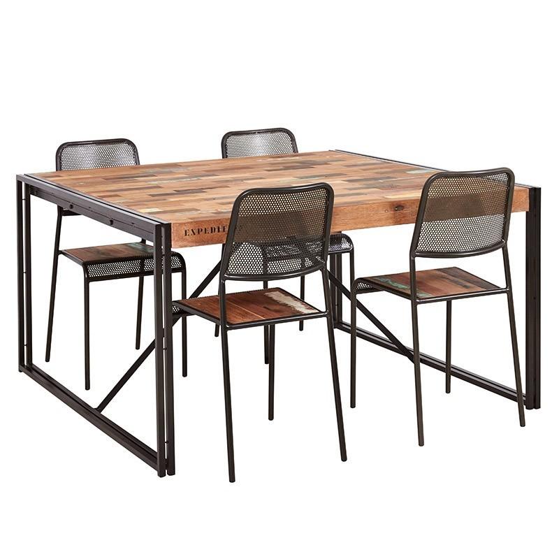 table repas carree factory samudra 140