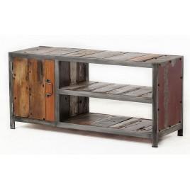 meuble tv industriel ego 120 cm