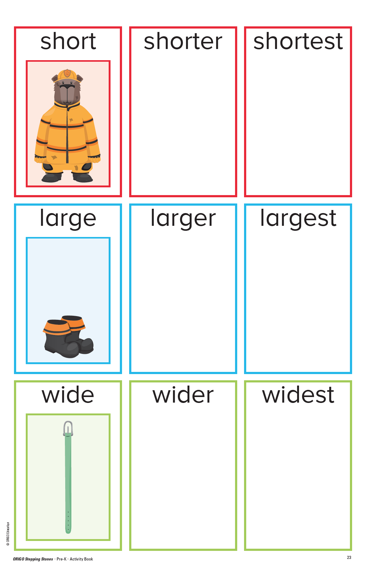 Stepping Stones Activity Book Pre K