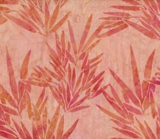 Bali handpaint - Orange bambusblade
