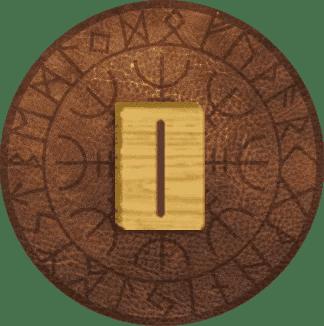 significado da runa isa
