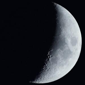 Lune du 29/05/2009 35%