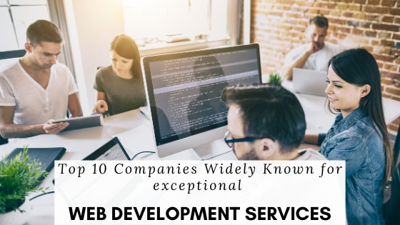 TOP 10 WEB DEVELOPMENT COMPANIES IN INDIA