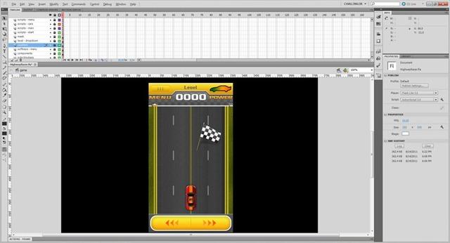 flash-cs55-highway-racer