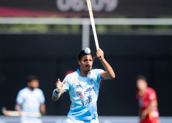 Dilpreet Singh was one among three Indians to get a hat-trick against Indonesia