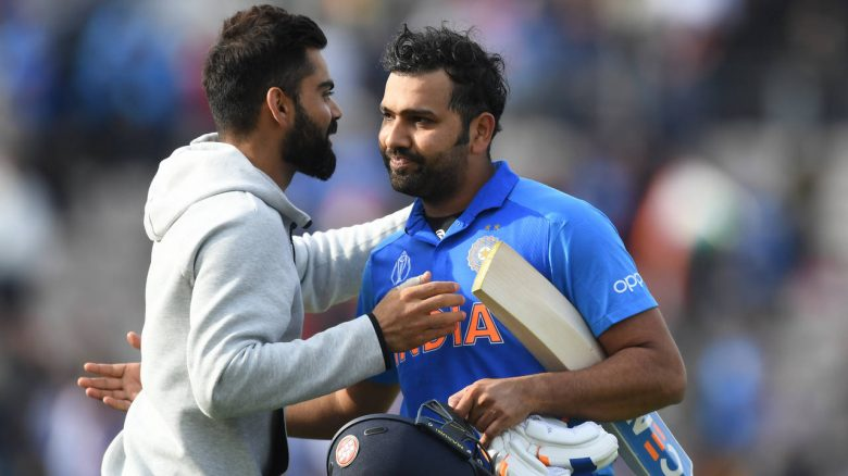 Rohit scored an unbeaten 144-ball 122 to anchor a successful chase against South Africa in India's World Cup opener here, Wednesday.