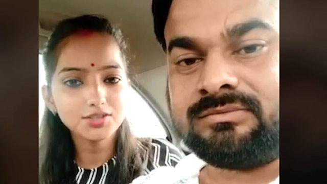Sakshi is a Brahmin, while her husband Ajitesh Kumar belongs to a Dalit family.