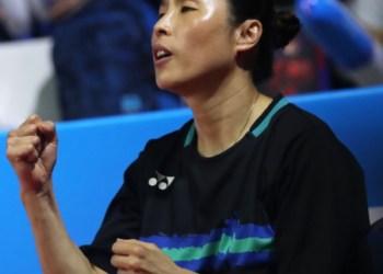 PV Sindhu's coach Kim Ji Hyun of South Korea
