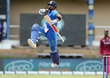 Kohli brought up his 42nd century during the course of which he went past former India skipper Sourav Ganguly tally of 11,363 runs in the list of leading run-getters in ODI cricket.
