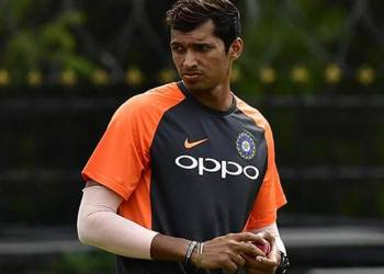 Saini, who plays domestic cricket for Delhi, made his T20 International debut against the West Indies in Florida and won the man of the match award in his maiden appearance.