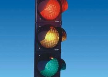 This is why traffic signal lights are yellow, red and green