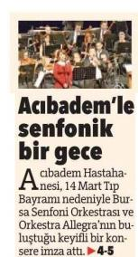 Bursa Olay 14 Mart 2015
