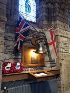 Royal Oak Bell & Memorial - St. Magnus Cathedral