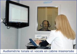 cabine audio traitement de la surdité