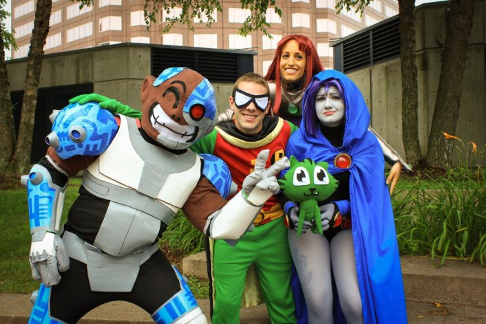 Cosplaying Friends