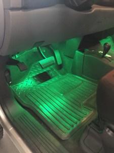 LED multi color interior glow