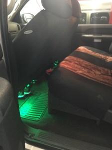 "Custom box with dual 12"" sub"