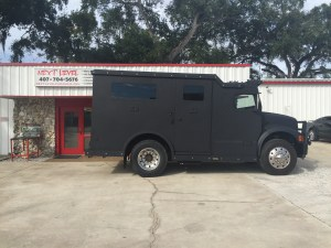 Armored Truck Limo Customized by Next Level Inc.