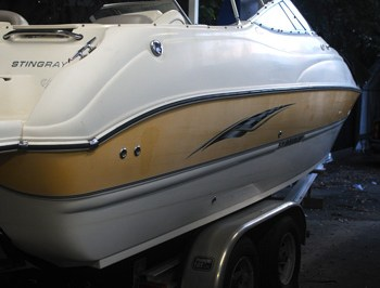 boat before detail orlando