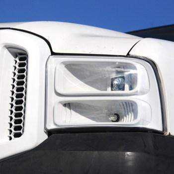 Ford Super Duty custom headlights