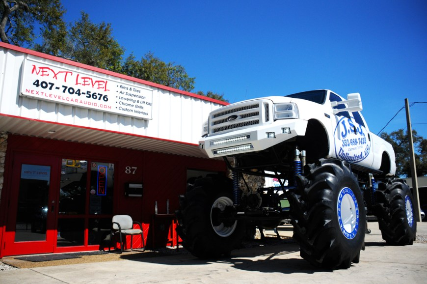 ford monster truck next level