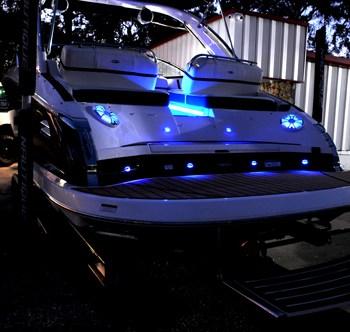 Marine LED Speakers