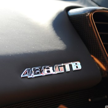 Scuderia Ferrari 488 GTB Dash Badge