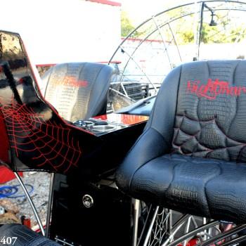 custom gator skin seats