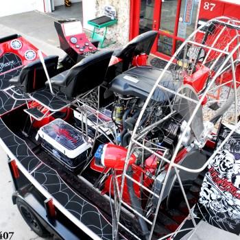 Custom Nightmare Airboat