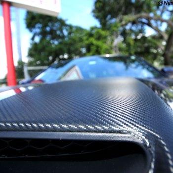 Carbon Fiber Stripped Hood