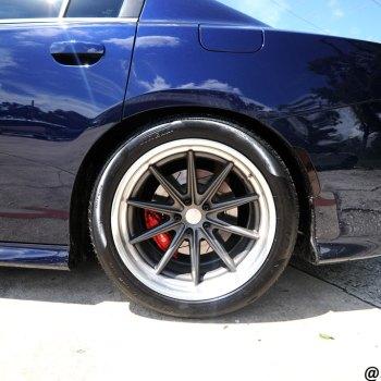 Rear Tire Dodge Hellcat SRT