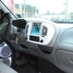 Custom Truck Dash Ford With Ipad Mini Installed Orlando Custom Audio