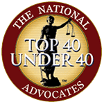 Advocates top 40 member seal 1 - Community Involvement and Achievements