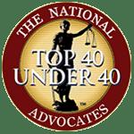 Advocates top 40 member seal 1 - Attorney AnnMarie Jenkinson