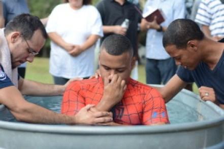Devon & Jose Pray Before Ammec's Baptism!