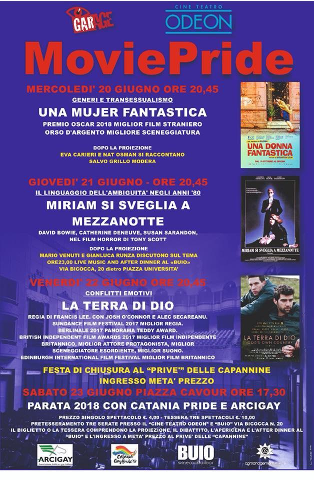 MoviePride 2018 @ Cine teatro Odeon Catania - OrlandoMagazine.it
