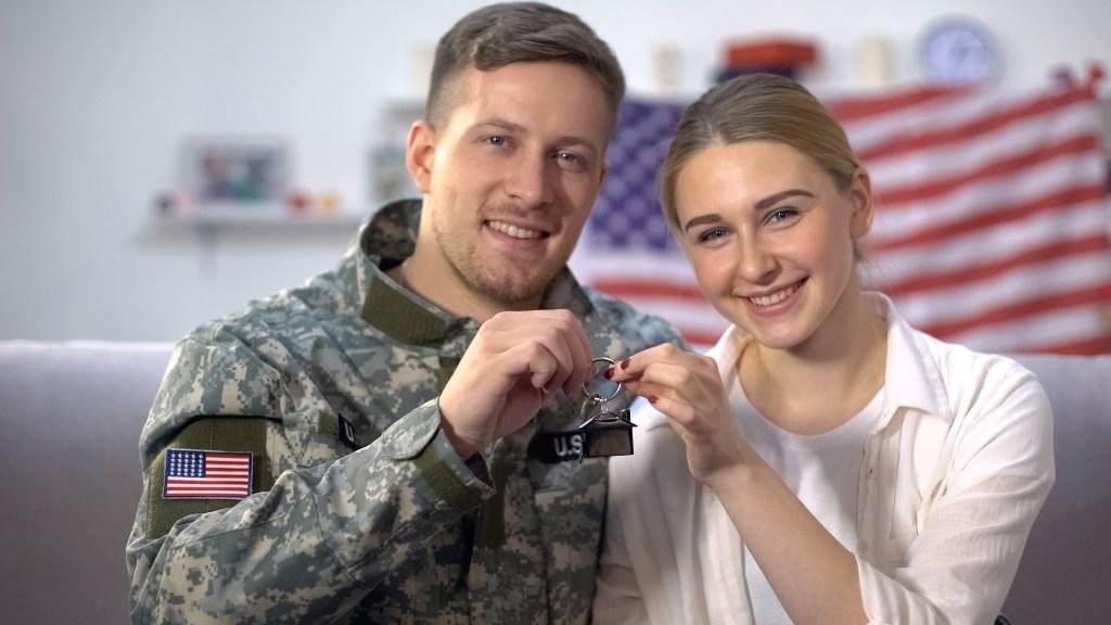 VA Home Loan Family