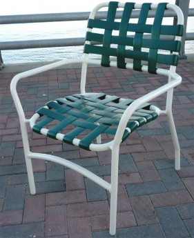 florida patio furniture re strapping